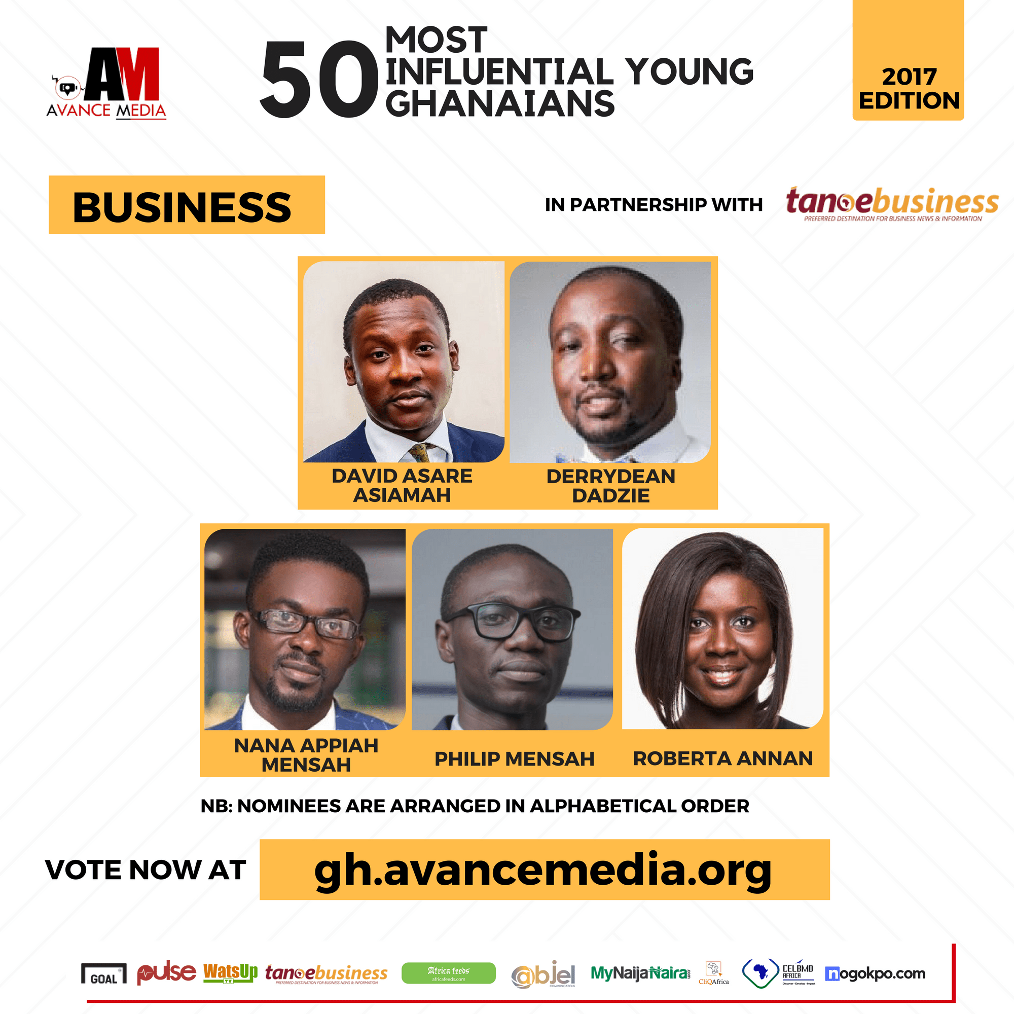 2017 50 Most Influential Young Ghanaians (1)