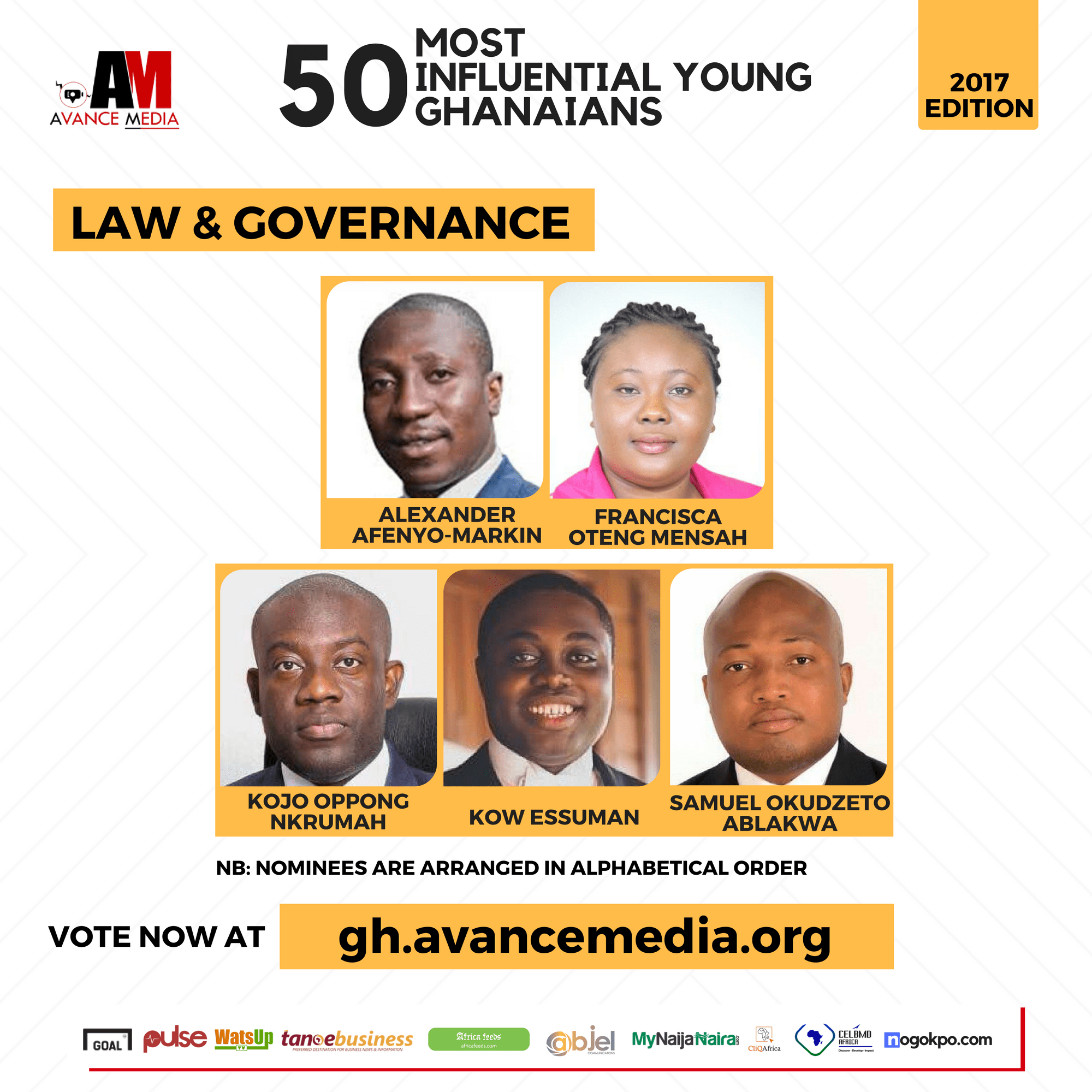 2017 50 Most Influential Young Ghanaians (3)