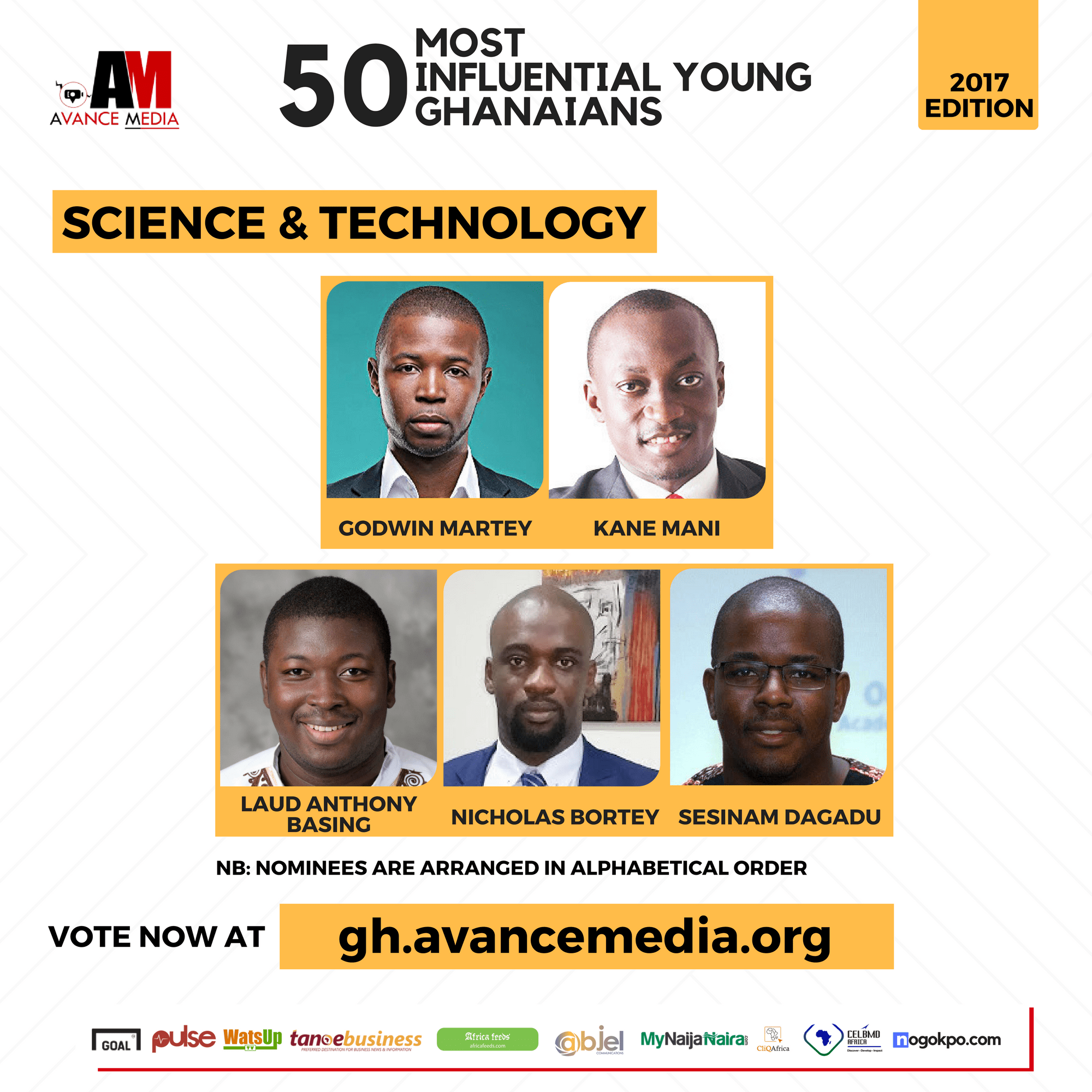 2017 50 Most Influential Young Ghanaians (7)